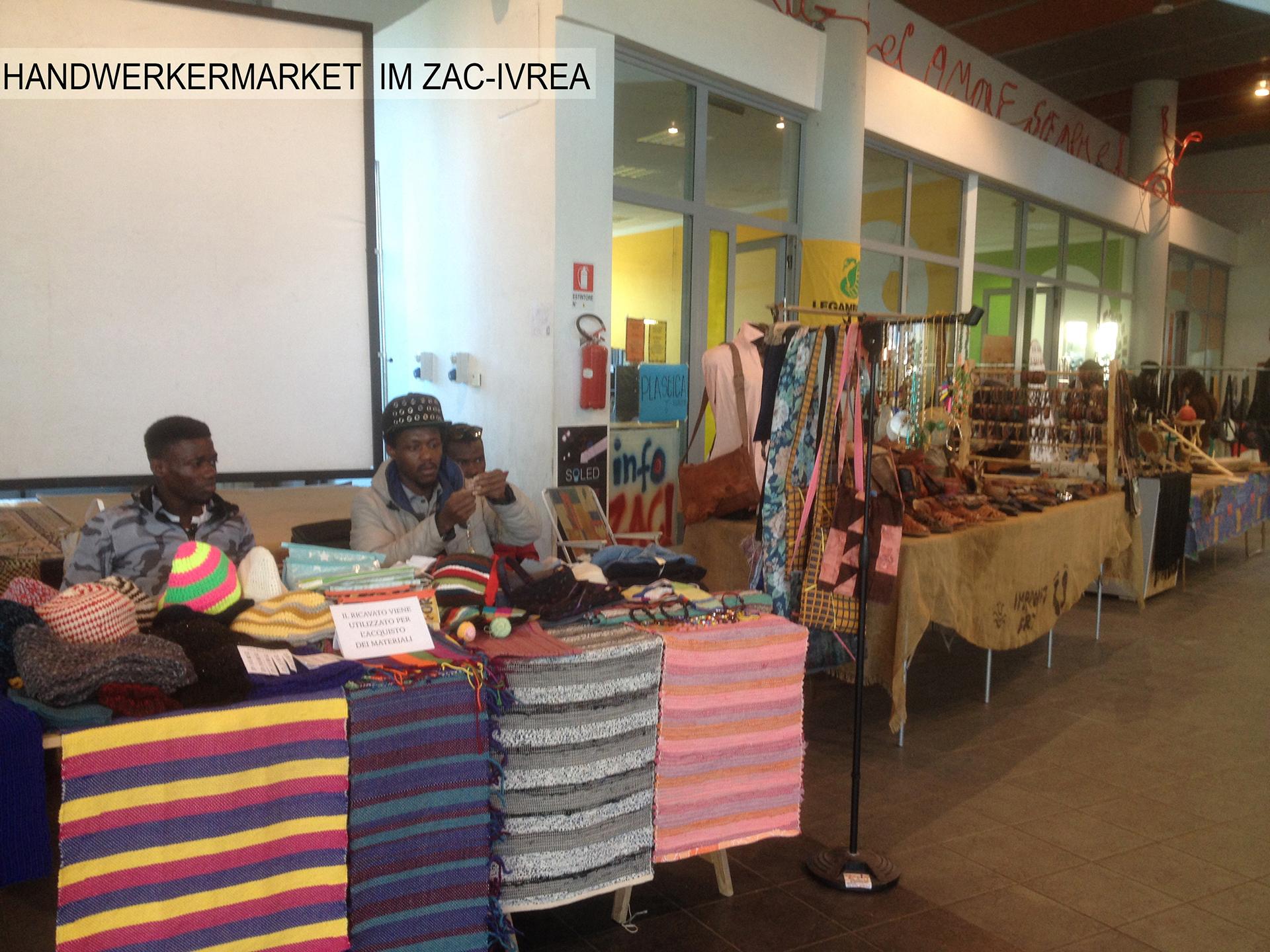 ZAC Wochenmarkt  Bahnhof Ivrea